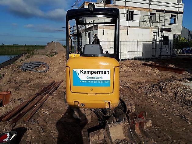 Grondverzet, riolering en sanering - Kamperman Grondwerk Groningen Scheemda