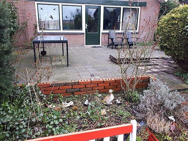 tuin  Finsterwolde - Kamperman Grondwerk Groningen Scheemda