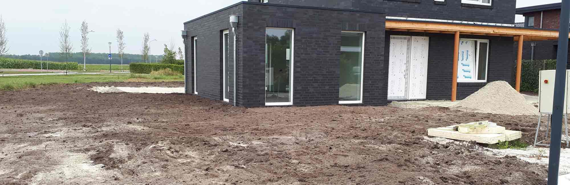 Graafwerkzaamheden - Kamperman Grondwerk Groningen Scheemda