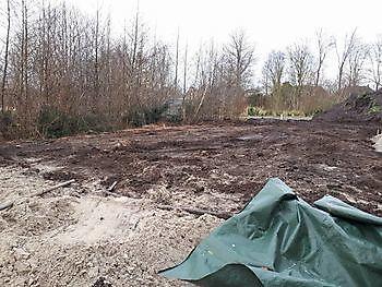 Tuinaanleg door de vakkundige hovenier Kamperman Grondwerk Groningen Scheemda