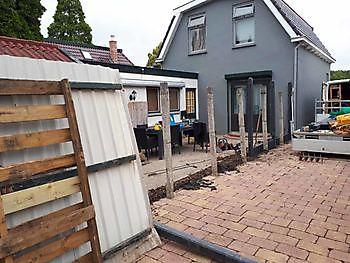 Bestrating rondom uw huis laten aanleggen Kamperman Grondwerk Groningen Scheemda