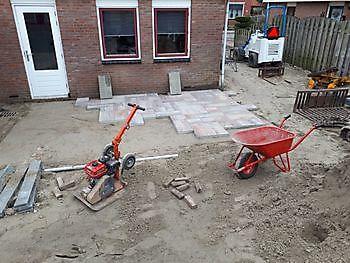 klus Oostwold grondwerk/straatwerk Kamperman Grondwerk Groningen Scheemda