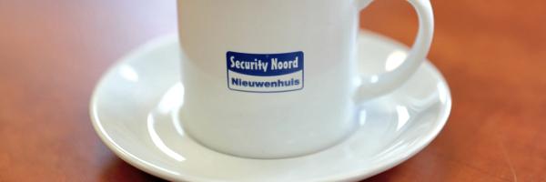 Koffie bij Security Noord