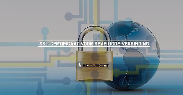 SSL-certificaat zorgt voor beveiligde verbinding - SecuSoft Software Beveiligingsbedrijven