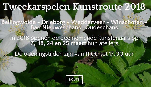 Tweekarspelen Kunstroute Oost-Groningen