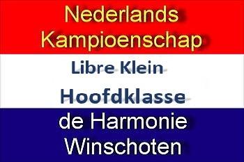 NK Libre Klein Hoofdklasse in Sociëteit De Harmonie - Sociëteit De Harmonie Winschoten