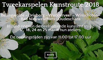 Tweekarspelen Kunstroute Oost-Groningen Sociëteit De Harmonie Winschoten